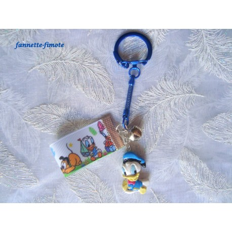 """Porte clé Enfant Fimo """"Donald"""""""