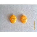 Breloque Fimo Pot de miel - Vendu à l'unité