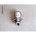 """Breloque Halloween """"Squelette""""- Vendu à l'unité"""