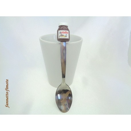 Cuillère Fimo Nutella